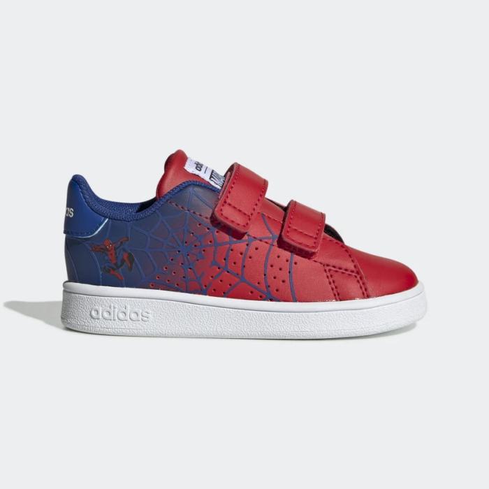 Adidas Advantage Spiderman Περιπάτου Κόκκινο Αγόρι