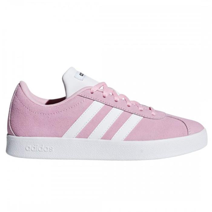 Adidas VL Court Περιπάτου Ροζ Κορίτσι