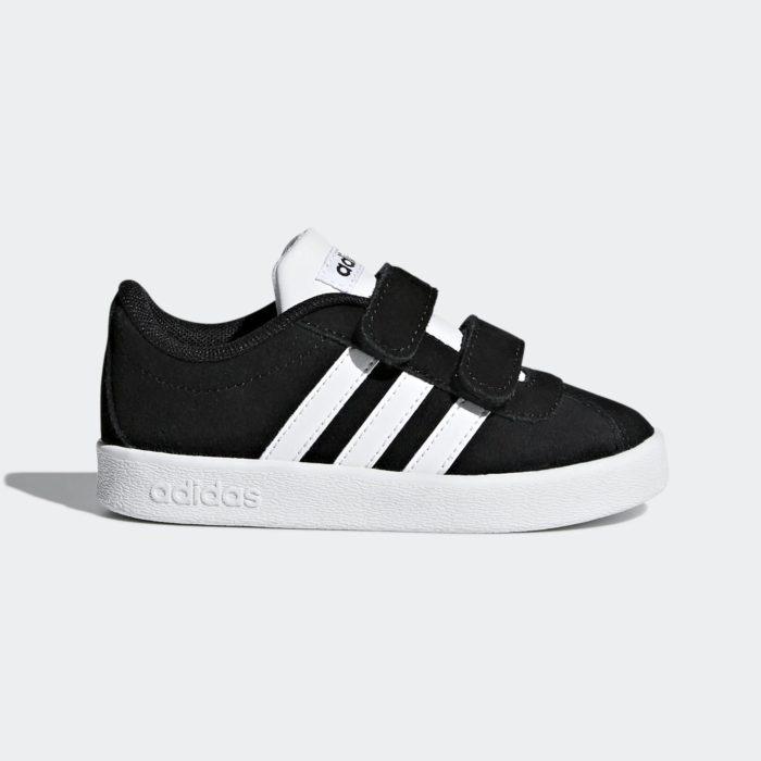 Adidas VL Court Περιπάτου Μαύρο Αγόρι