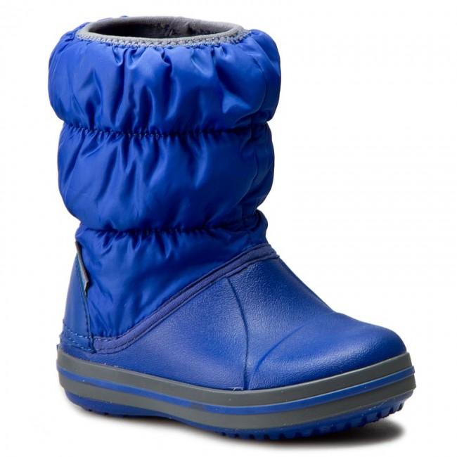 Crocs Παιδικό Μποτάκι Μπλε Αγόρι