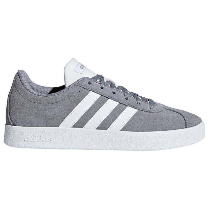 Adidas VL Court Περιπάτου Γκρι Unisex